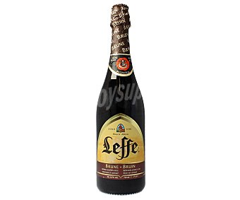 Leffe Cerveza negra brune belga Botella 75 cl