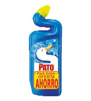 Pato Limpiador gel azul Pack de 2x750 ml