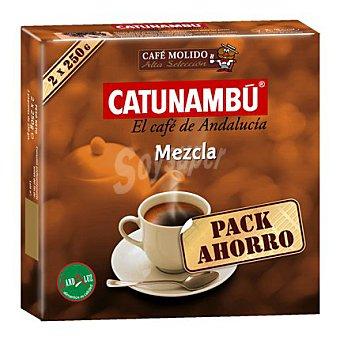 Catunambu Café molido mezcla 2 x 250 g