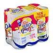 Tinto de verano limón zero 0% alcohol + 0% azúcares Pack 6 x 330 cc Casón Histórico