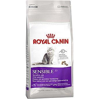 Royal Canin Sensible 33 pienso especial para gatos adultos con sensibilidad digestiva con arroz Bolsa 2 kg