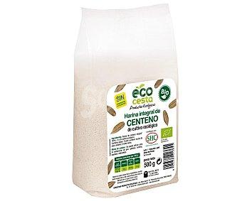 Ecocesta Harina de centeno integral biológica Bolsa 500 g