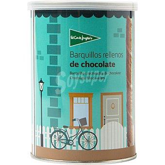 El Corte Inglés Barquillos rellenos de chocolate Lata 200 g