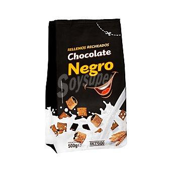 Hacendado Cereal relleno chocolate negro Caja 500 g