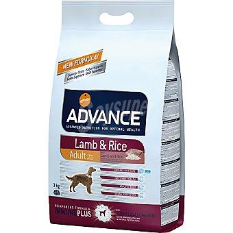 Advance Affinity Alimento de alta gama para perros de + 1 año rico en cordero y arroz Adult Bolsa 3 kg