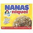 Estropajo de acero inoxidable dorado 1 ud Nanas Niquel
