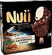 Helado dark chocolate almendra 3 unidades Nuii