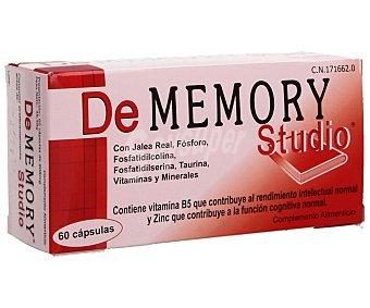 DE MEMORY STUDIO Complemento alimenticio que contribuye al rendimiento intelectual normal 60 comprimidos