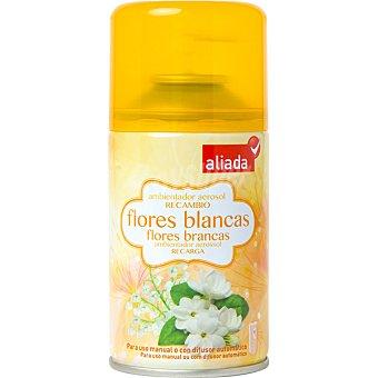 ALIADA Ambientador automático flores blancas recambio 250 ml