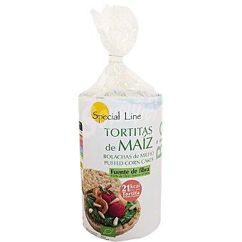 Special Line Tortitas de maíz ecológicas Envase 120 g
