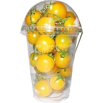 Tomate cóctel rama amarillo tarrina 250 g