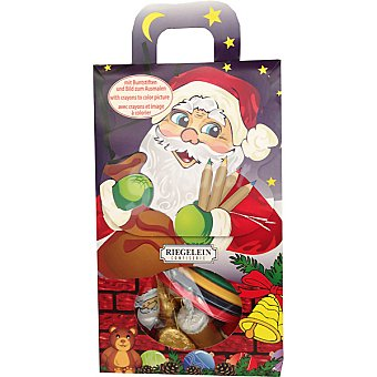 RIEGELEIN Set creativo de chocolates navideños envase 120 g