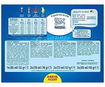 Nestlé Surtido de helados compuesto por 2 pirulo happy, 2 watermelon, 2 jungly y 1 push up smarties 461 mililitros