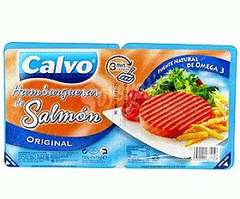 Calvo Hamburguesas Salmón 2x75gr