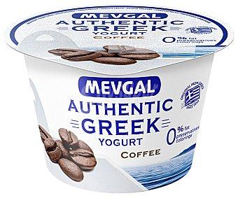 Mevgal Yogur estilo griego (0% materia grasa) con sabor a café 150 g