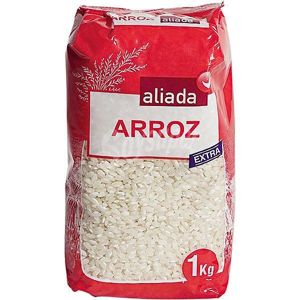 aliada arroz redondo extra paquete 1 kg
