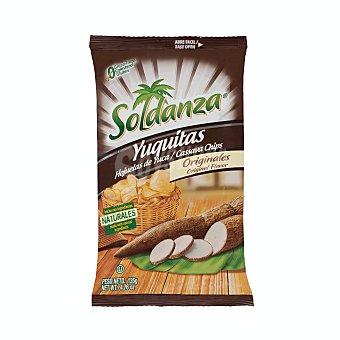 Soldanza Yuca frita con sal Paquete 135 g