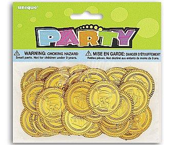 Party Relleno para piñatas, monedas de pirata 30 unidades