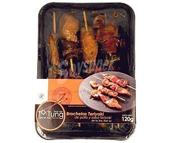 Ta Tung Brochetas de pollo con salsa teriyaki 120 gr