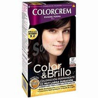 Colorcrem Tinte marrón chocolate N.5.7 Pack 1 unid