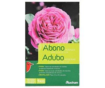 Auchan Abono granulado especial para rosales y arbustos en flor 1 kilogramo