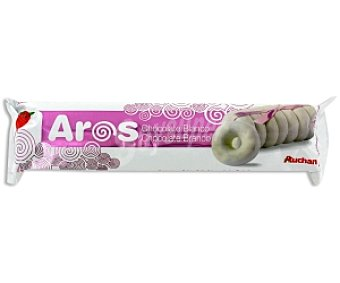 Auchan Galleta Aros Chocolate Blanco 150 Gramos