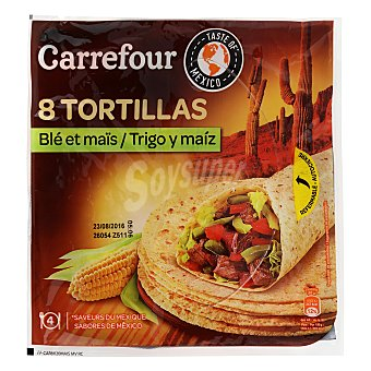 Carrefour Tortillas de maíz 320 g