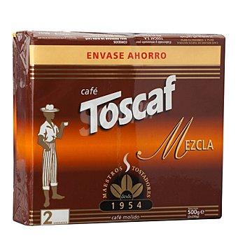 Toscaf Café molido mezcla duplo Pack 2x250 g