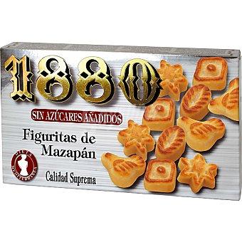 1880 Figuritas de mazapán sin azúcar Estuche 150 g