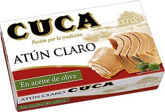 Cuca Atún claro en aceite de oliva Lata de 82 g