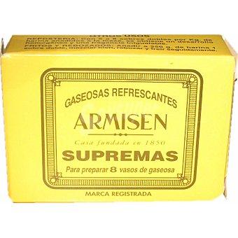 ARMISEN Gaseosa refrescante en polvo caja 8 sobres