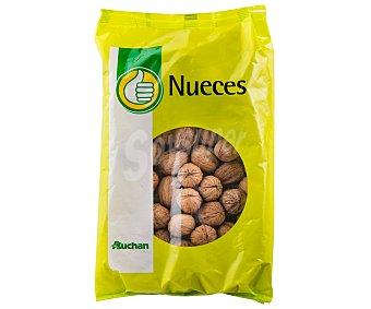 Auchan Nueces con cáscara producto económico alcampo 600 gramos