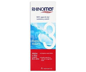 RHINOMER Agua de mar ,limpieza nasal fuerza suave 1 (ayuda natural en caso de congestión nasal), 115 Mililitros