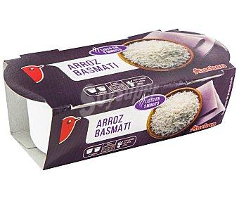 Auchan Arroz basmati vasito para microondas Pack 2 x 125 g