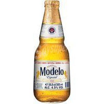 MODELO Especial Cerveza mexicana Botellín 35,5 cl