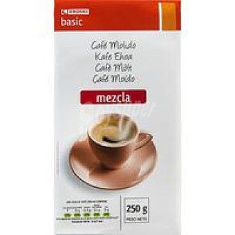 Eroski Basic Café molido mezcla Paquete 250 g