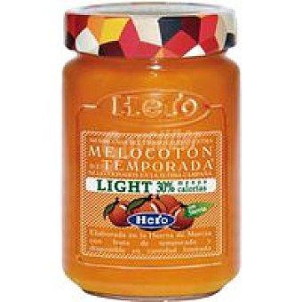 Hero Mermelada de temporada light de melocotón Frasco 335 g