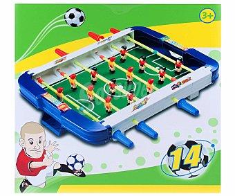 Productos Económicos Alcampo Mini-Futbolín de Plástico de 24 Centímetros 1 Unidad