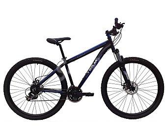 TEAM Bicicleta de montaña de 29 pulgadas talla L, cuadro de alumino, frenos de disco, suspensión delantera, 21 velocidades 1 Unidad