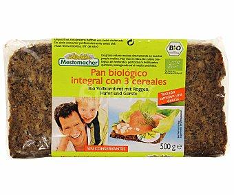 Mestemacher Pan de cereales mixtos ecológico Bolsa de 500 gramos