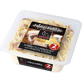 Gallo Espaguetis carbonara con panceta cocida Sabores Nuestros Envase 600 g