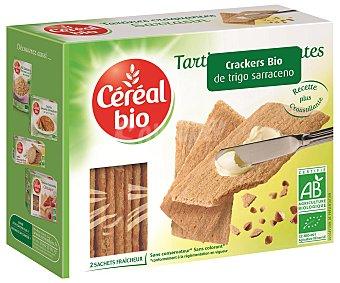 CEREAL BIO Crackers ecológicos de trigo sarraceno 145 gramos