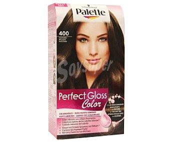 PALETTE GLOSS COLOR Tinte color Castaño, sin amoniaco Nº 400 1 Unidad
