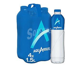 Aquarius Bebida isotónica de limón Pack 4 botellas x 1,5 l