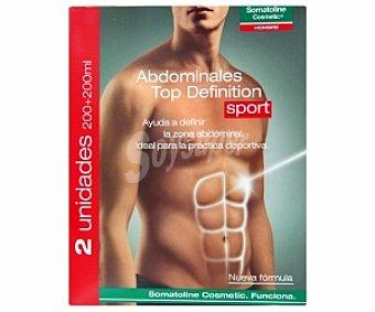 Somatoline Cosmetic Tratamiento Hombre abdominales Top Definition Sport 200+ 200 Mililitros