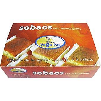 Vega de Pas Sobaos pasiegos de mantequilla Caja 550 g
