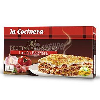 La Cocinera Lasaña boloñesa Caja 530 g