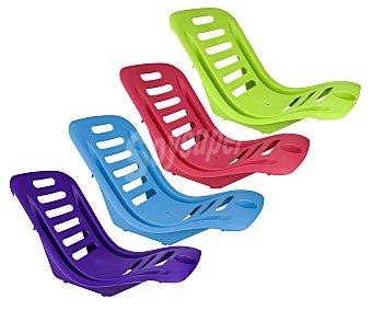 TIME&HAPPY Silla ergonómica de playa. Fabricada en resina de diferentes colores 1 unidad