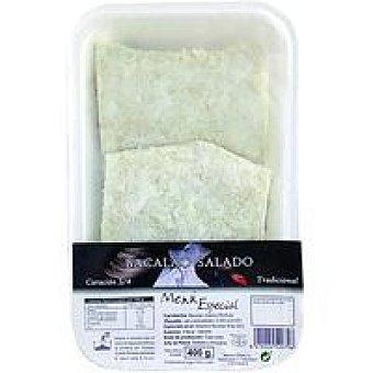 Menú Bacalao especial 3/4 curación Bandeja 400 g