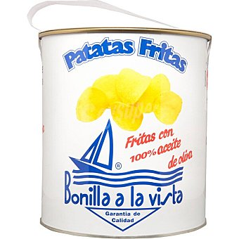 Bonilla Patatas fritas en aceite de oliva Lata 500 g